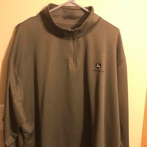 John Deere 1/4 zip jacket